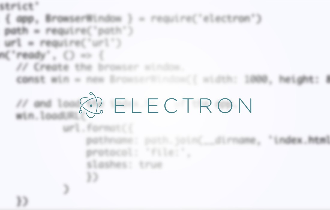 Co to jest framework Electron JS - zobacz tutorial