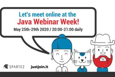 java webinar week