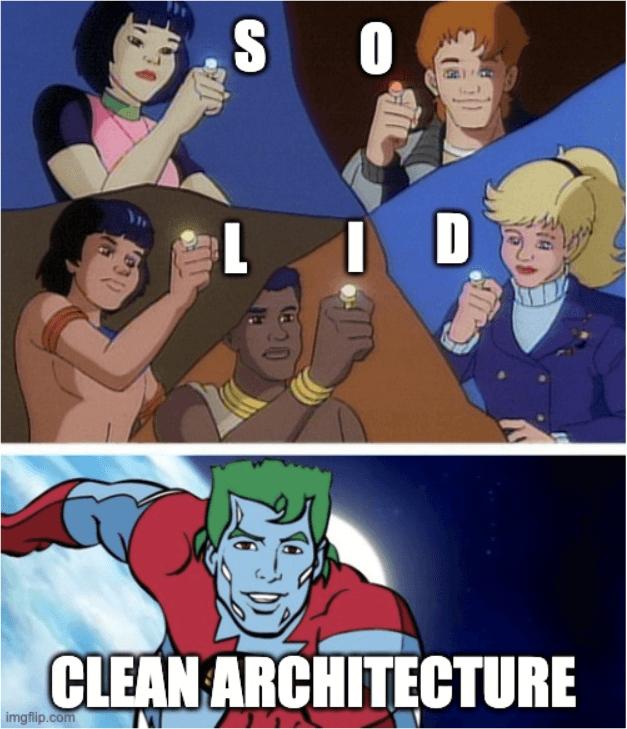 clean architecture we frontendzie