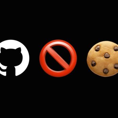 Banery o plikach cookies znikają z GitHub