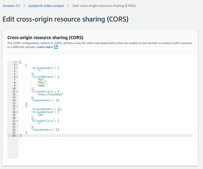 AWS Elastic Transcoder - konwersja do formatu m3u8