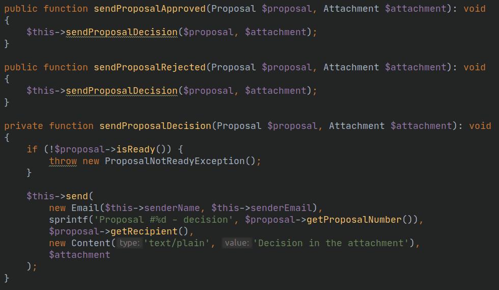 jakość kodu - popraw powtórzony kod