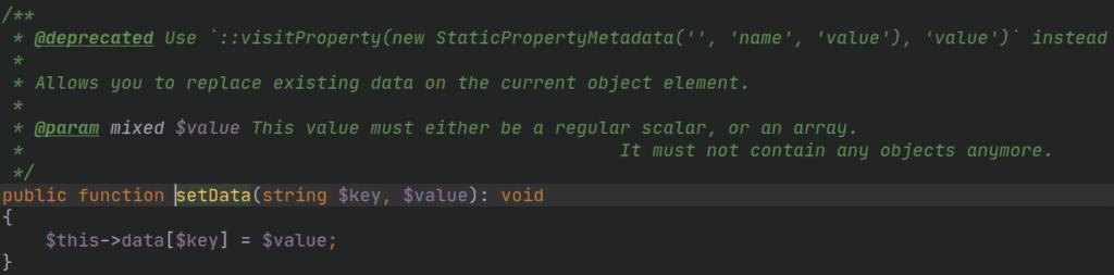 zintegrowane środowisko programistyczne IDE - deprecated - czysty kod - krok 6