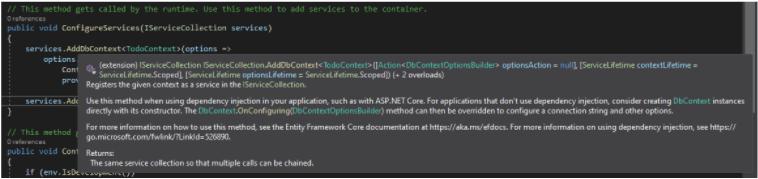 integralność danych - AddDbContext w architekturze multi-tenant