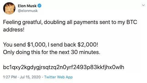 Elon Musk zhakowany Twitter