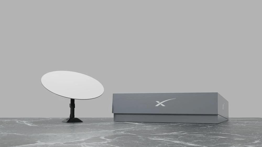 odbiornik internetu satelitarnego Starlink