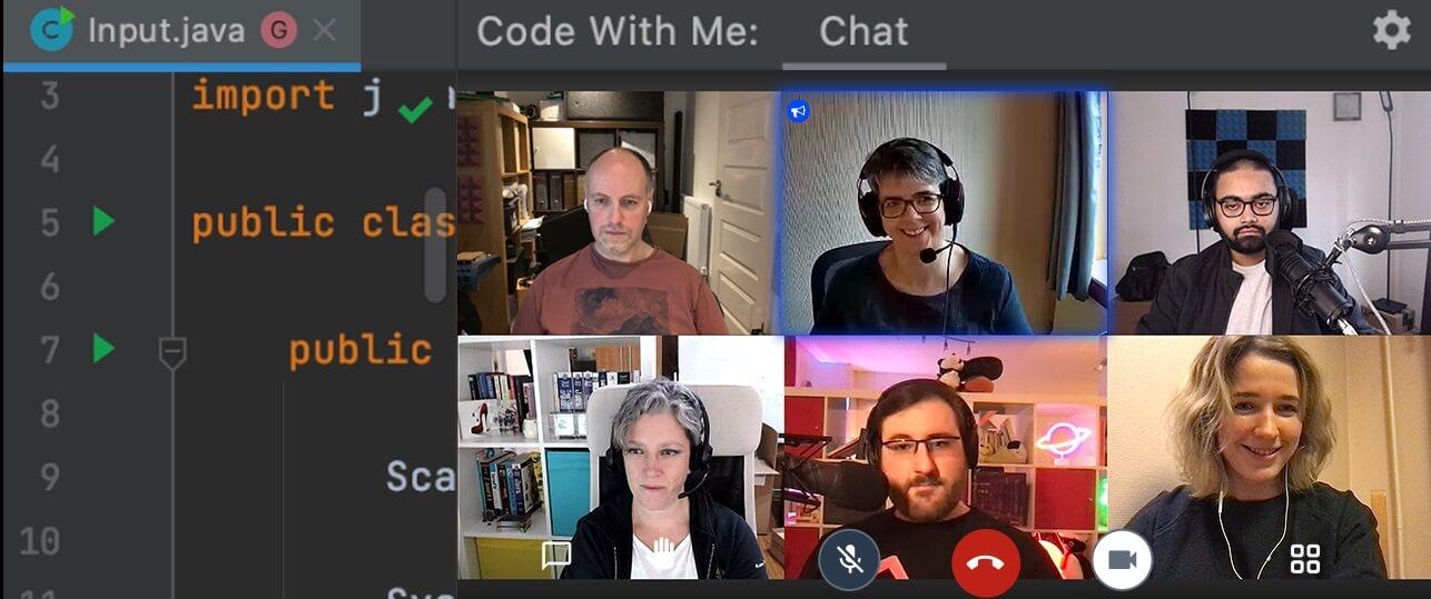 IntelliJ 2021.1 Code With Me