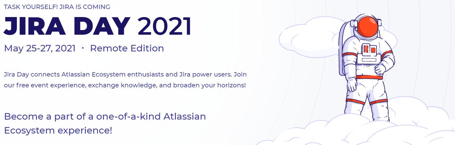 Wydarzenie IT - Jira Day 2021