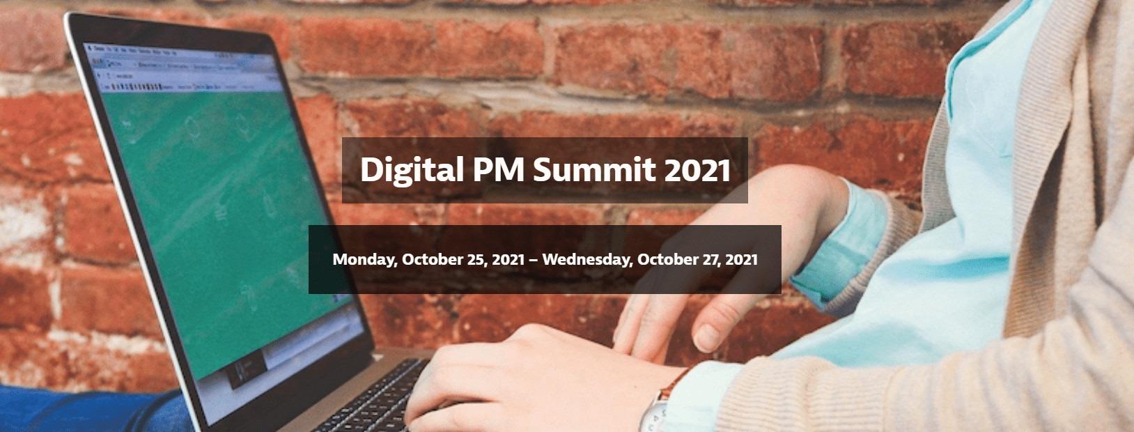 Konferencje informatyczne - Digital PM Summit 2021