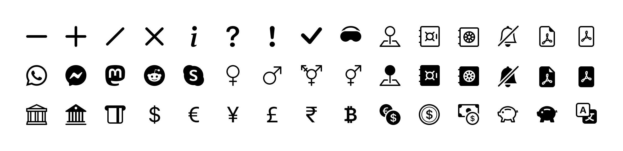 Boostrap 5 ikony
