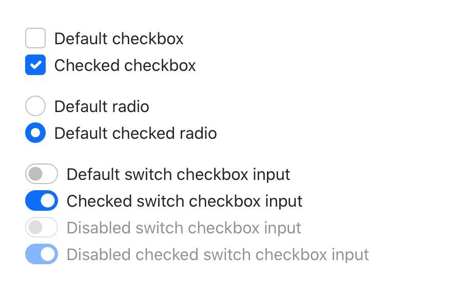Bootstrap 5 formularze checkboxy