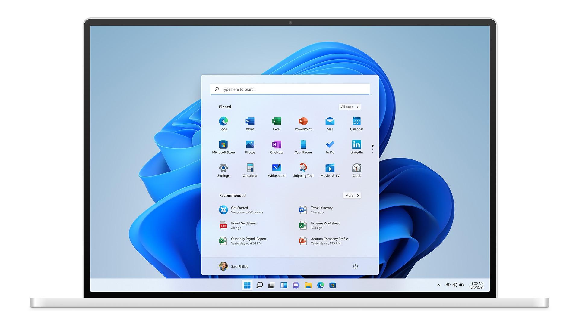 Windows 11 wygląd